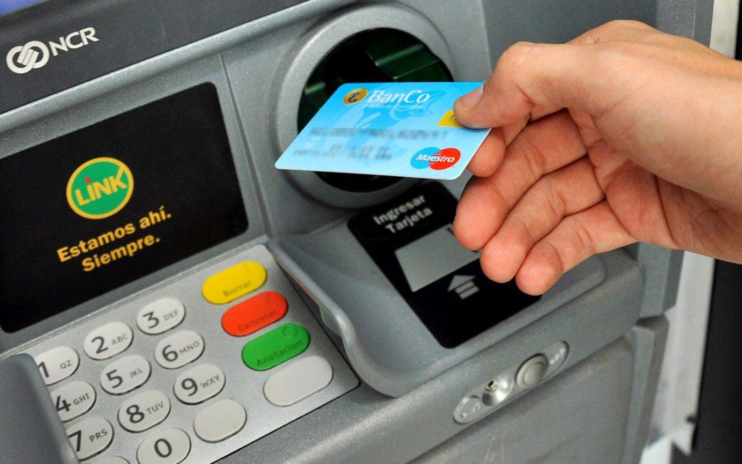 Cajeros de los bancos